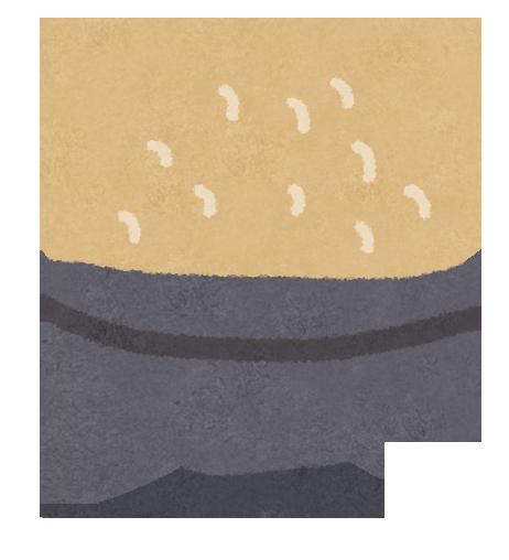 玄米、低GI値食品